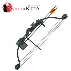 25lb Draw Black Kita Archery Compound Bow