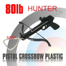 80lb HUNTER PISTOL CROSSBOW MK-80A1 Plastic