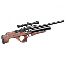 Kral Puncher Knight PCP Air Rifle Turkish walnut stock .177 Calibre 14 shot free hard case