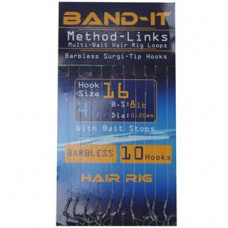 Band It Hair Rig Method Links Size 16 (BAN131)