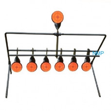 7 Shooting Gallery Swinging Target Spinning Auto Reset Set