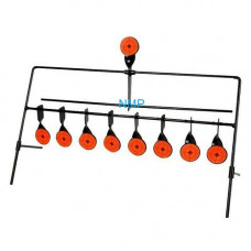 9 Shooting Gallery Swinging Target Spinning Auto Reset Set