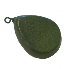 Camo Green Carp Weights 80g Flat