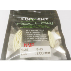 3M Connekt Hollow Duo Wall Pole Fishing Elastic 3 Metres For Top Kits, White Size 8-10 Dia 2.00mm