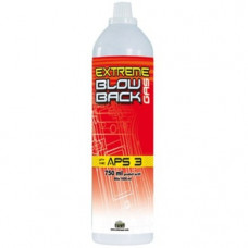 Cybergun Extreme Blowback Gas APS3 750ml suitable for all Gas Blow Back GBB Airsoft Guns