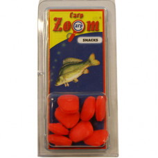 Carp Zoom PACK OF 8 SINGLE MAXI STRAWBERRY RED ARTIFICIAL CORN (CZ0706)