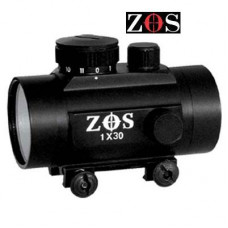 1 x 30RD RED DOT ZOS Fits Weaver Rail