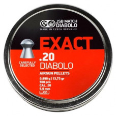 JSB Exact Pellets 5.1mm .20 Calibre 13.73 grain Tin of 500