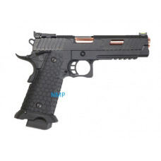John Wick 3 KLI JW3 Baba Yaga Hi-Capa 5.1 Co2 Blowback Pistol 23+1 round (4.5mm/.177 - Black)