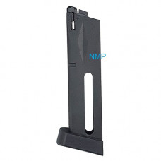 KLI M92 Co2 Magazine 4.5mm, .177 20 Rounds Black