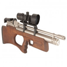KRAL Breaker BULLPUP PCP Pre Charged Air Rifle .22 calibre 12 shot marine Turkish walnut thumbhole stock