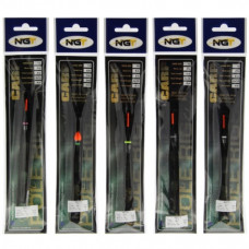 NGT ready tied Pole Rigs Carp A pack of 10 Assorted