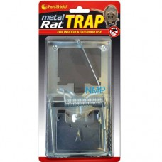 Pestshield METAL RAT TRAP CLASSIC SNAP RAT TRAPS - REUSABLE RODENT TRAPS