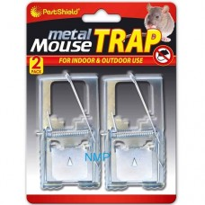 Pestshield 2 pack Metal Mouse Traps