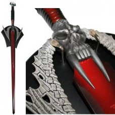 Red Fantasy Skull Sword