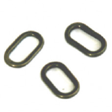 Sixth Sense Oval Rig Rings ( 6mm ) Pack of Ten