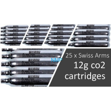 Swiss Arms 12 gram 12g Co2 Cartridge for co2 Air Guns