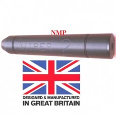 1/2 inch UNF Thread VIPER 2 Black airgun silencers Tapered unproofed Made in UK