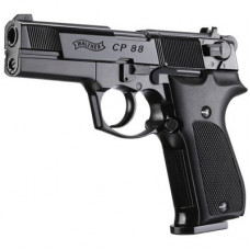 Walther CP88 Black 4 inch 12g Co2 Air Pistol .177 calibre pellet 8 shot