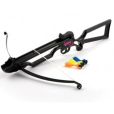Fox Joy Toy Crossbow with 3 sucker darts in Black