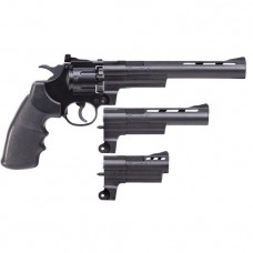 Crosman 357 Triple Threat 4.5mm BB & .177 Pellet Co2 Revolver