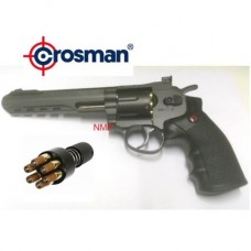 Crosman SR357 BB Revolver 4.5mm metal BB 12g co2 air pistol Black
