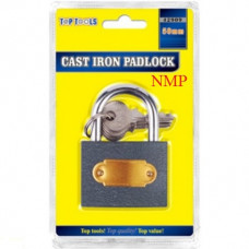 50mm CAST IRON PADLOCK TOP TOOLS