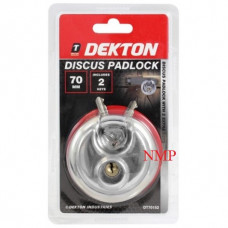 DEKTON DISCUS HEAVY DUTY PADLOCK 80MM