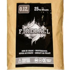 BULK 25kg SACK of 6mm 0.12g BB Polished White high grade FireBall Performance Airsoft Pellets Nylon 0.12g 25kg SACK