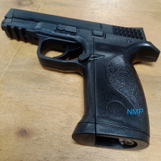Huntex Large M&P Co2 Pistol None-Blowback 4.5mm BB Black 15 shot