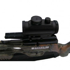 Jaguar Multi Range 3 Dot Red Dot Sight features 3 illuminated red dots Fits Weaver Rail