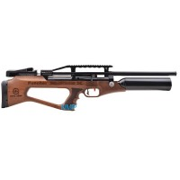 KRAL PUNCHER EMPIRE X BULLPUP PCP PRE-CHARGED AIR RIFLE .22 calibre 12 shot Turkish walnut stock and free hard case