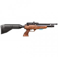 Kral Puncher NP-02 PCP Pre Charged Air Rifle .177 calibre 14 shot NP02 and free hard case Black WALNUT STOCK