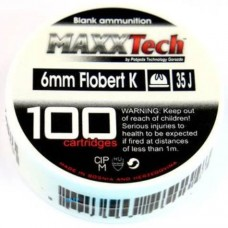 Maxx Tech 6mm Blanks 100 Rounds per box (To be collected from store only)