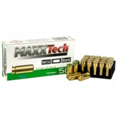 MAXX Tech 9mm P.A.K Blank Cartridges 50 Rounds per box (To be collected from store only)