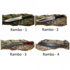Rambo 1, 2, 3, 4 Set of Survival Knives Rambo set