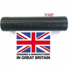 1/2 inch UNF Thread VIPER P Black Pistol airgun silencer Flat Bull Barrel unproofed Made in UK