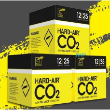 Hard Air CO2 12 gram 12g Cartridges for Air Guns Precision Made Co2 Propellant with added Webley TRU-GLIDE lubricant from Webley